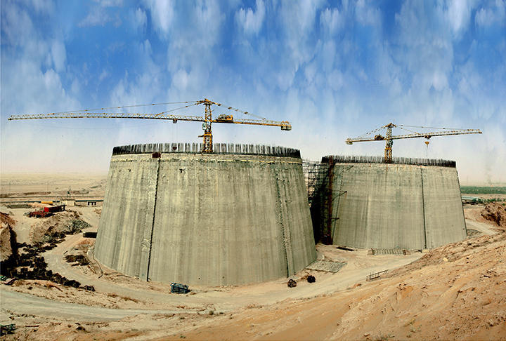 Construction of Crude Oil Strategic Storage Tanks